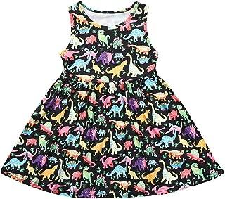 Applique Mädchen Kleid Baumwolle Kleidung Herbst Tiere Pferd Prinzessin Kostüm