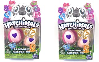 Hatchimal CollEGGtibles 2 Pack with Nest Find the GOLDEN Hatchimal (set of 2)
