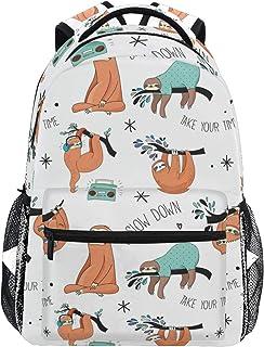 Mochilas de unicornio para niña, para escuela, color rosa, crema, unicornio, estrella mágica, para niños, adolescentes y niños, mochila de viaje, bolsa de ordenador portátil