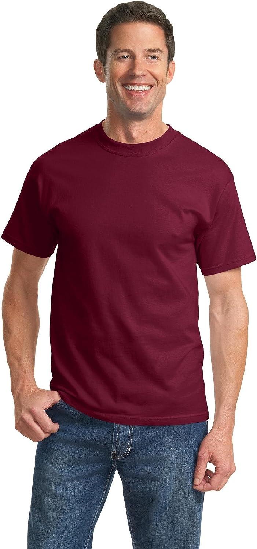 Port & Company Tall Essential T-Shirt, 3XLT, Cardinal