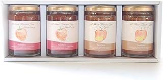 famfam 果実だけで作った砂糖不使用のオリジナルジャム4個入ギフト