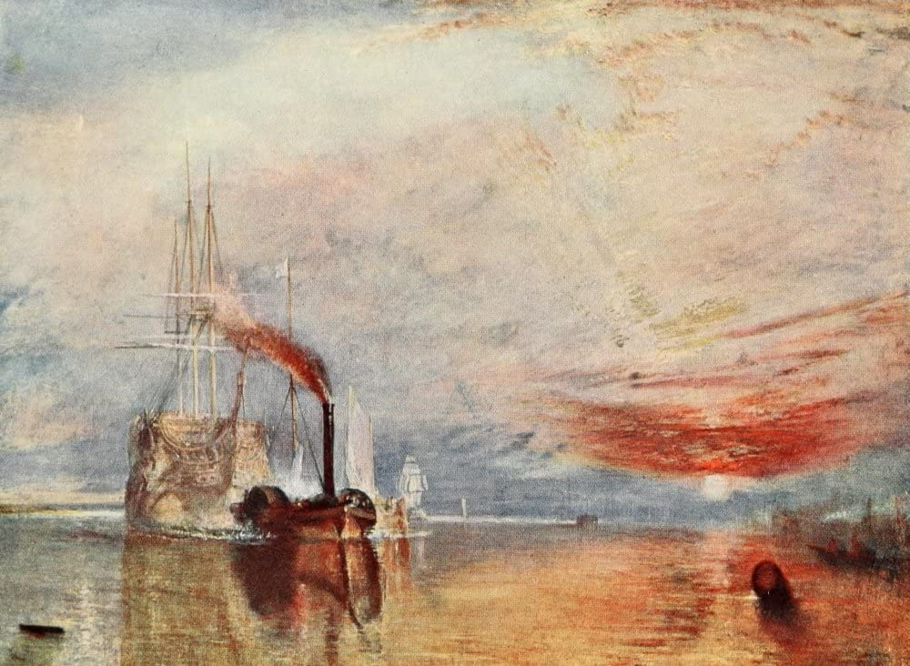 The Fighting Temeraire JMW Industry No. 1 Turner Print Cash special price Turne by Poster 1905