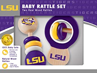 Louisiana State  Wood Rattle Set
