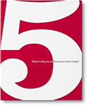 The 5 Book: Where Will You be Five Years from Today? - coolthings.us