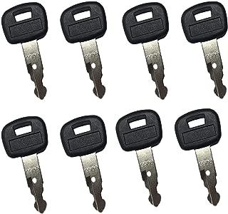 Mover Parts (8) Ignition Keys RC411-53933 459A RC461-53930 for Kubota KX121-3 KX161-3 KX41-3 KX71-3 KX91-3 U15 U17 U25S U35 L39 L45 L47 L48