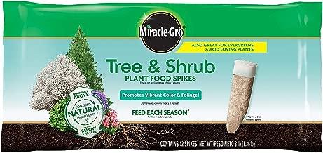 Miracle-GRO Tree & Shrub Fertilizer Spikes - 12 PK (3 Pack)