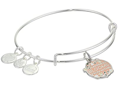 Alex and Ani Color Infusion Bangle Bracelet (Silver/Happiness Blooms) Bracelet