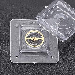 Redxiao Pièces de réparation d'horlogerie pour 8200 mouvement - Roue d'équilibrage pour le séchage des horlogers Hairsprin...