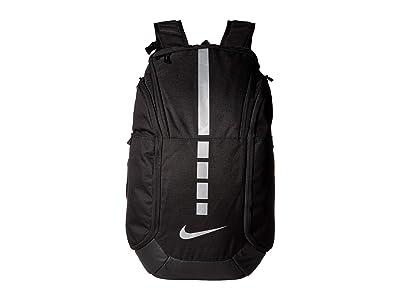 Nike Hoops Elite Pro Backpack (Black/Black/Metallic Cool Grey) Backpack Bags