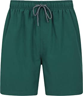 Mountain Warehouse Aruba Mens Swim Shorts - Fast Dry Swimming Trunks, Lightweight Board Shorts, Adjustable Draw Cord Beach...