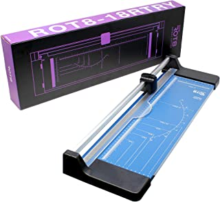 """VViViD Rot8 18"""" Heavy-Duty Sliding Rotary Paper Cutter and Trimmer"""