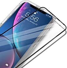 """UNBREAKcable iPhone XR Full Coverage Screen Protector - [Easy Installation Frame] Double Defence Tempered Glass Screen Protector for 6.1"""" iPhone XR (2018)"""