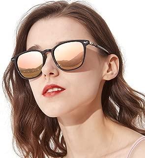 Mirrored Polarized Sunglasses for Women Fashion Eyewear...