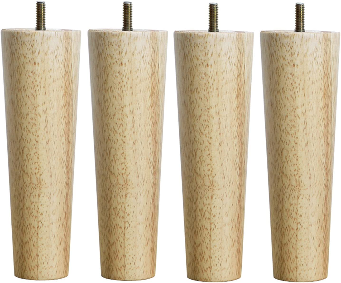 YHBZ Furniture feet Wood Table Award-winning store conical Max 47% OFF Solid Replaceme Legs