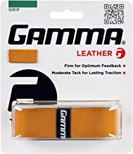 Gamma Sports Tennis Racquet Leather Replacement Grip
