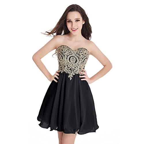 Black and Gold Formal Dresses: Amazon.com