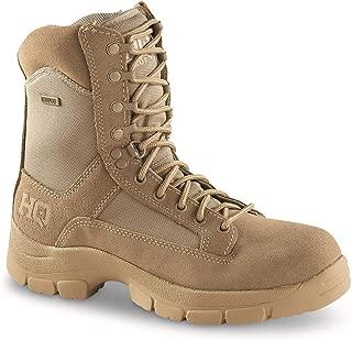 HQ ISSUE Men's Waterproof 8 Side Zip Desert Boots