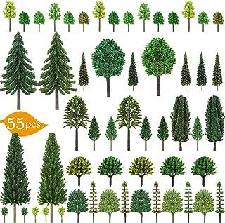 Nilos 55pcs Mixed Model Trees, 1