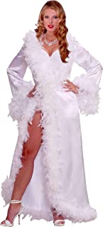 feather lingerie robe