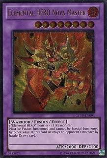 Yu-Gi-Oh! - Elemental HERO Nova Master (GENF-EN093) - Generation Force - Unlimited Edition - Ultimate Rare