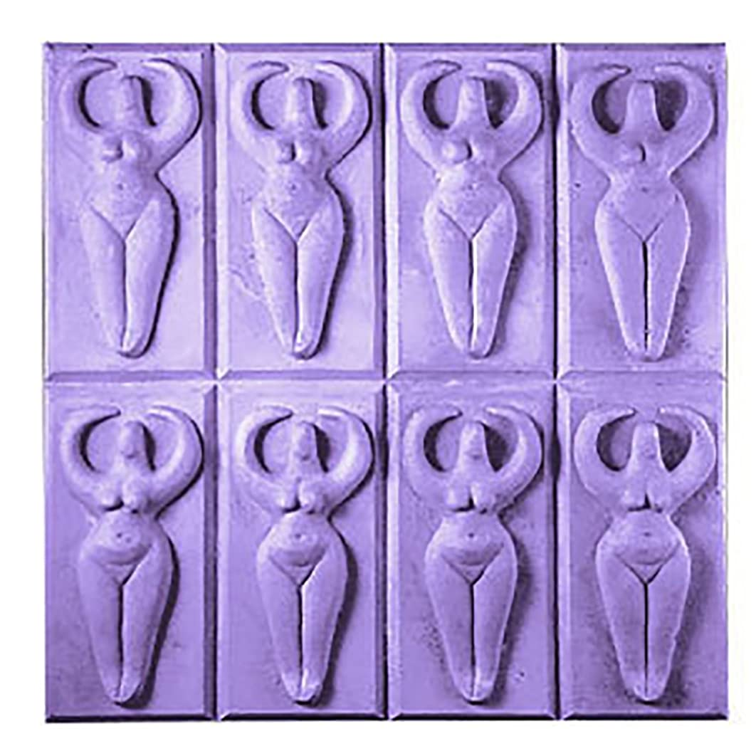 Milky Way Goddess Soap Mold Tray - Melt and Pour - Cold Process - Clear PVC - Not Silicone - MW 272