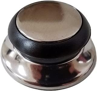 Horizon Cookware 6099 Universal Kitchen Replacement Pot Lid Cover Knob Handle - Black/Silver (1)