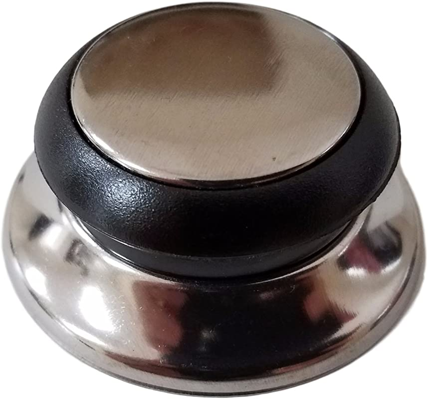 Horizon Cookware 6099 Universal Kitchen Replacement Pot Lid Cover Knob Handle Black Silver 1
