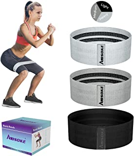 ABSOKE Resistance Bands, Booty Bands for Legs and Butt,...