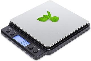 ميزان المطبخ الرقمي فوفولي للطعام، 3000 جرام / 0.1 جرام / 0.01 جرام عالي الدقة متعدد الوظائف، دقة عالية وجرامات المطبخ - ...