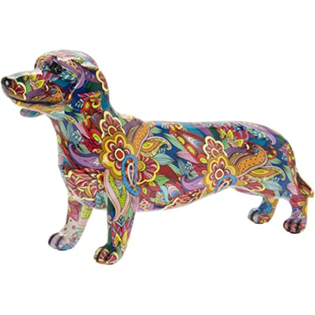 Gift for him Gift for Dog Lover Concrete SausageDog Stocking Filler Mini figure ornament,daschund, Gift for her Dog ornament