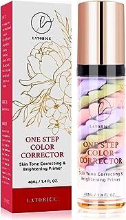 پرایمر آرایشی ، کانسیلرهای یک مرحله ای ، تصحیح کننده رنگ ، آغازگر اصلاح کننده و روشن کننده رنگ پوست ، Latorice