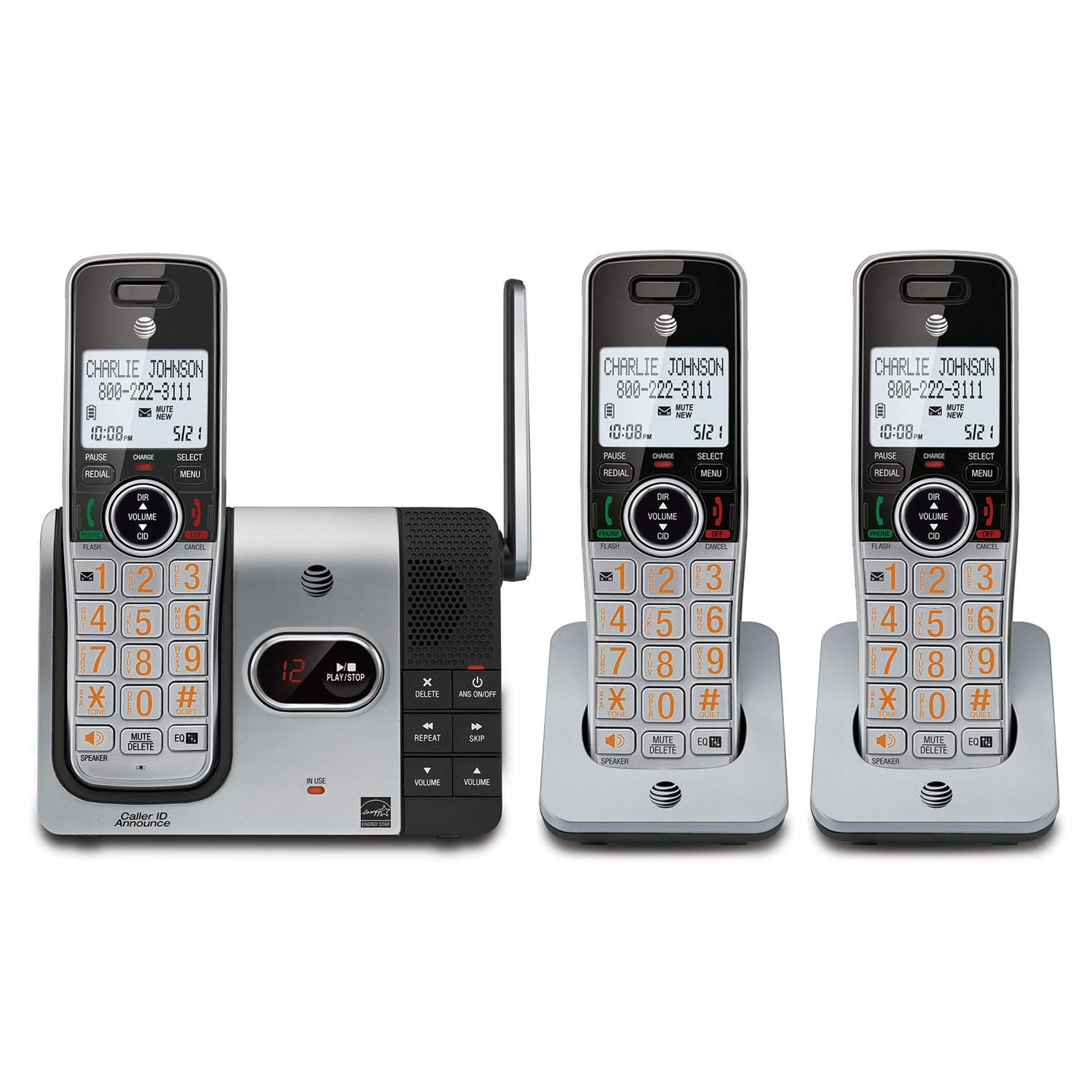 AT CL82314 Expandable Cordless Answering