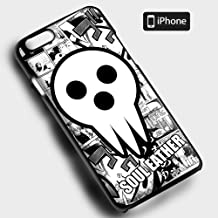 Get New Soul Eater Death Shinigami Comic Art Anime Fit For iPhone 6 Case