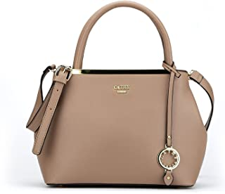 507d7381df8bbb Cathy London Women's Handbag, Material- Synthetic Leather, Colour- Khaki