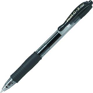 Pilot BL-G2-7-B Gel Roller Pen, 0.7 mm, Zwart