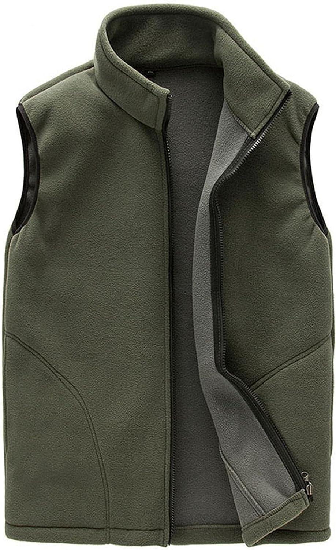 Beppter Unisex Couples Outdoor Vest Full Zip Winter Warm Sport Sleeveless Outwear with Pocket Lightweight Jacket Coat