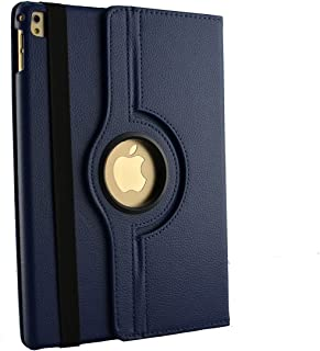 inShang iPad air 3 10.5 inch iPad 2019 Case Smart Cover Compatible iPad Pro 10.5 inch (2017),iPad Stand with Auto Sleep/Wake, 360 Rotating Case - Blue