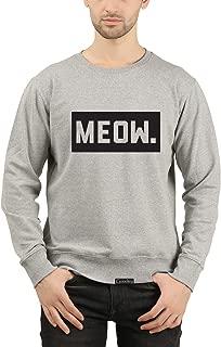 GOODTRY G Men's Cotton Printed Sweatshirt- Meow