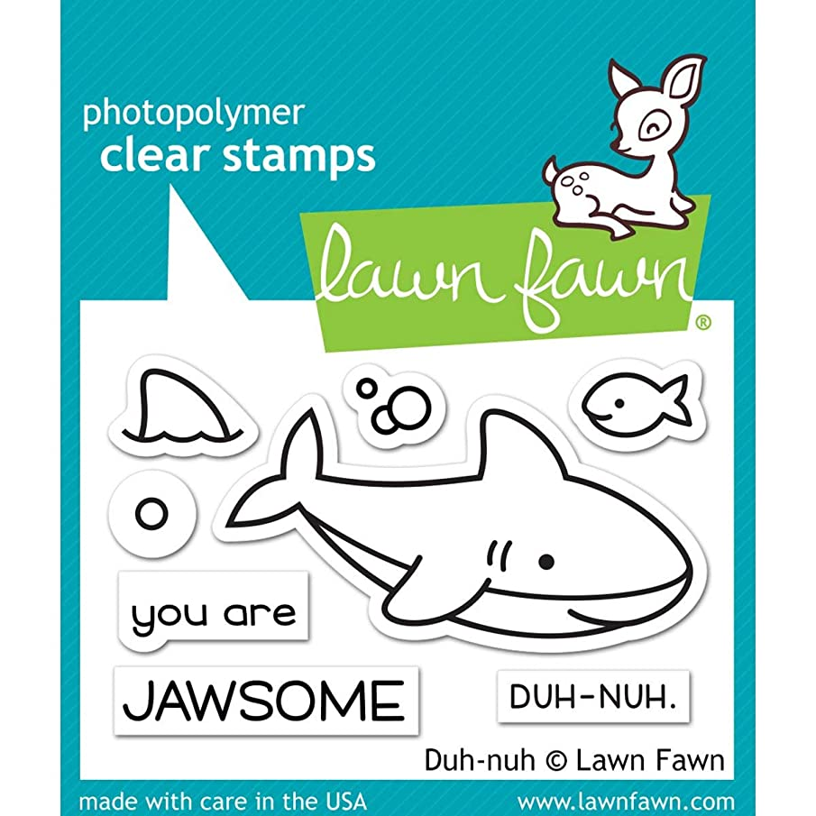 Lawn Fawn Clear Stamps 3'x2'-duh-nuh