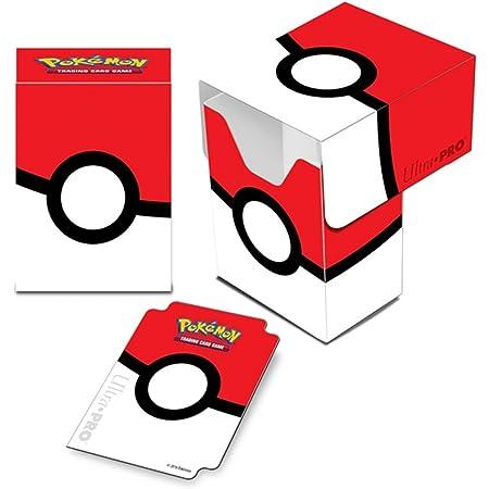 Pokémon 14574 boîte de rangement pour jeux de cartes, décor Pokéball