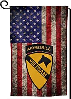 XIAYANGqi 1st Cavalry Air Mobile Vietnam Garden Flag Home Flag Outdoor Flags Double Sided Flag