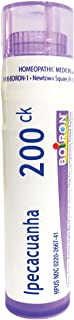 Boiron Ipecacuanha 200CK, 80 Pellets, Homeopathic Medicine for Nausea