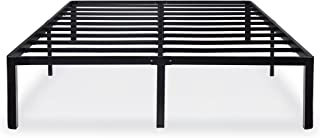 Olee Sleep 14 inch Tall T-2000 Steel Slat/Non-Slip Support Bed Frame Queen Size