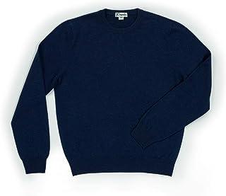 Caputo purecachemire Maglione Girocollo Uomo in 100% Puro Cashmere, Disponibili Taglie Forti e Colori Biologici, Seamless ...