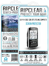 Ripclear Compatible with Garmin Edge 520 Cycling Computer GPS Screen Protector Kit - Scratch-Resistant, Smooth Touch, Anti-Glare - 2-Pack