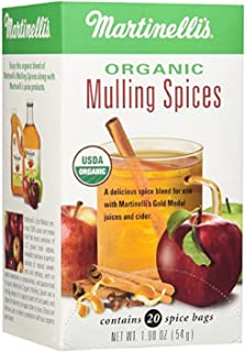Martinellis, Spices Mulling Organic 20 Count, 20 Fl Oz