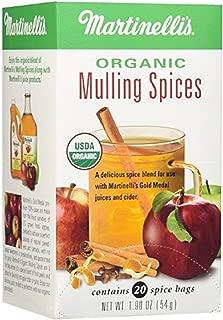 Martinellis, Spices Mulling Organic, 20 Fl Oz