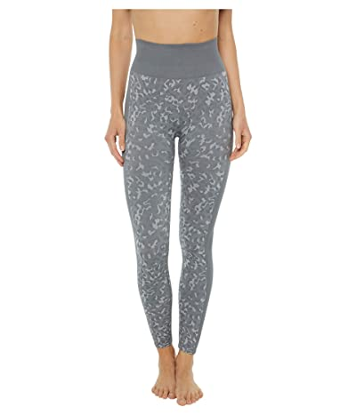 Splendid Studio Kylie 7/8 Cropped Seamless Leggings (Grey Leopard) Women