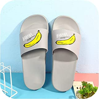 2019 Women Slippers Fashion Summer Lovely Ladies Casual Slip On Fruit Beach Flip Flops Slides Woman Indoor Shoes