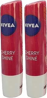 Nivea Cherry Shine Lip Balm 4.8g (Pack of 2)